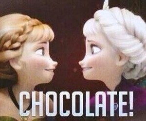 chocolate, frozen, and elsa image