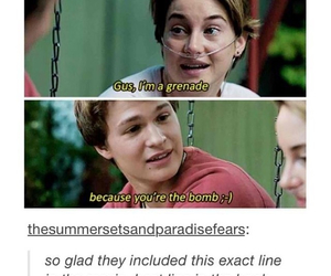 tfios, book, and funny image