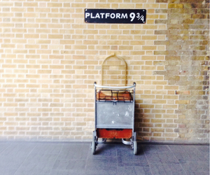 Dream, harry potter, and king cross image