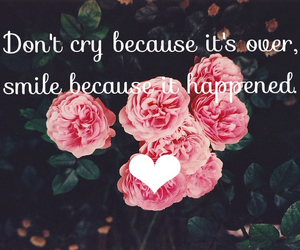 cry, edit, and flower image