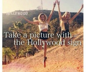 hollywood, bucket list, and before i die image