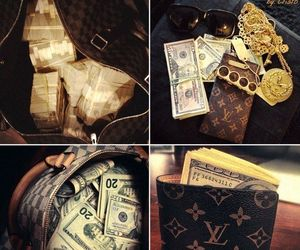 money, cash, and luxury image