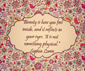 beauty, inspiration, and quote image