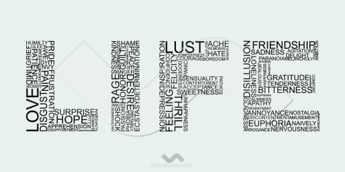 life and words image