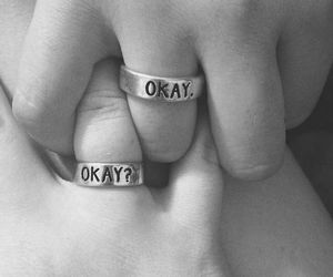 john green, rings, and okay? okay. image