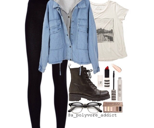 grunge, outfit, and hipster image