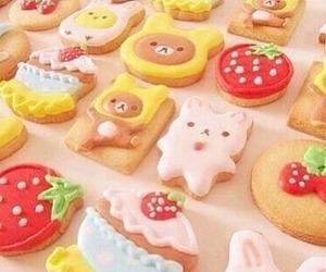 food, Cookies, and kawaii image