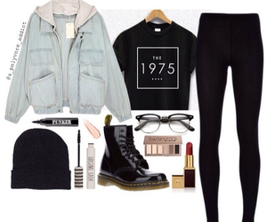 glamour, grunge, and outfit image