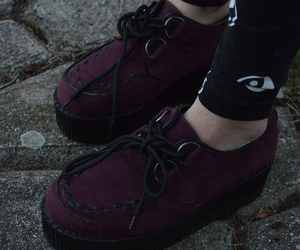 shoes, creepers, and grunge image