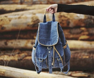 bag, hipster, and vintage image
