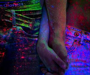 colors, couple, and cute image