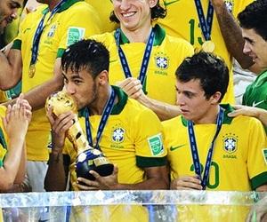 bernard, world cup, and brasil image