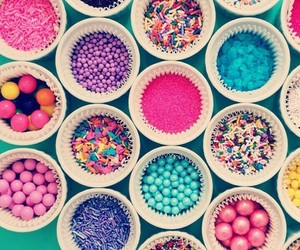 colorful, candy, and food image