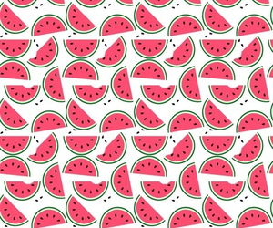 pink, watermelon, and yummy image