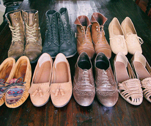 shoes, vintage, and boots image