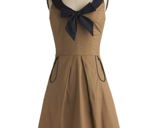 beige, dress, and neutral image