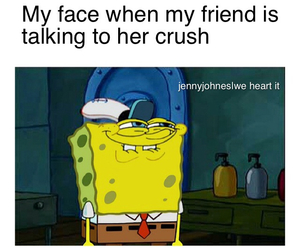 crush, funny, and best friends image