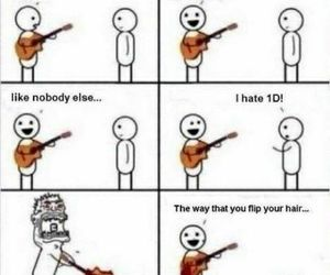 funny and one direction image