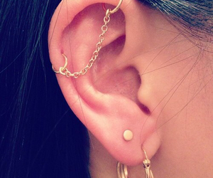 Piercings and ear piercings image