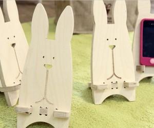 bunny, phone, and diy image