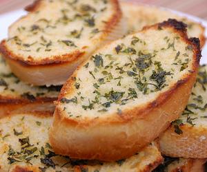 food, bread, and garlic bread image