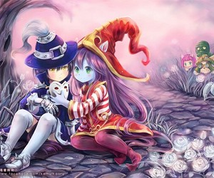 lulu, league of legends, and veigar image