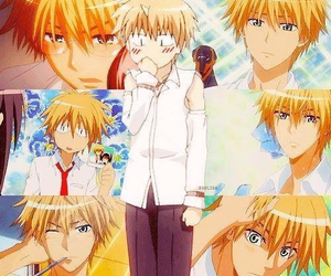 anime, usui, and kaichou wa maid-sama image
