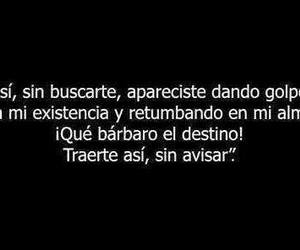 frases, love, and destino image