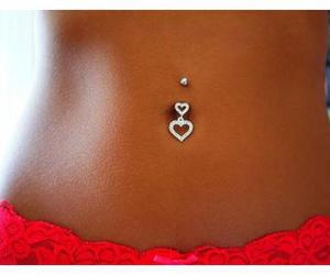 tan, piercing, and summer image