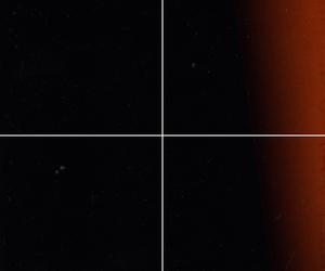 Collage, dust, and lightleak image