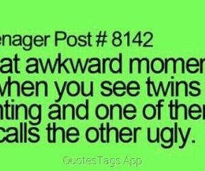 twins, awkward, and funny image