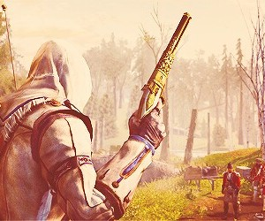 Hottie, assassins creed 3, and connor kenway image