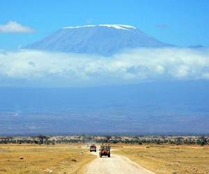 Kenya and Kilimanjaro image