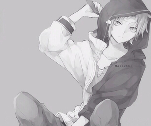 boy, anime boy, and kagerou project image