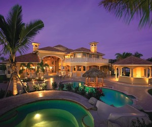 house, pool, and beautiful image