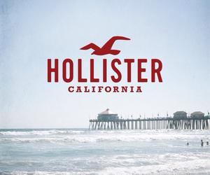 hollister, california, and beach image