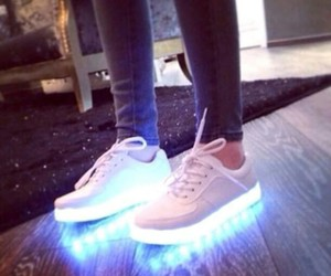 shoes and light image