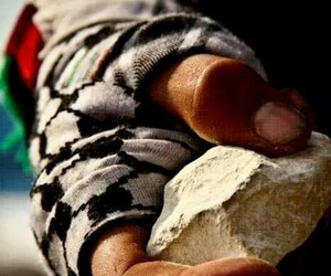 palestine and stone image