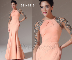 dresses, embroidery, and orange image