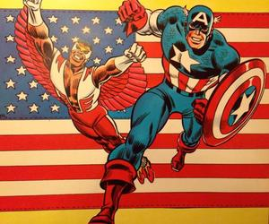captain america and falcon image