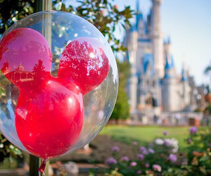 disney, balloons, and photography image