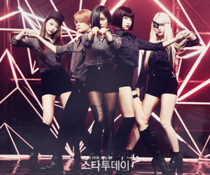 fx, kpop, and red light image