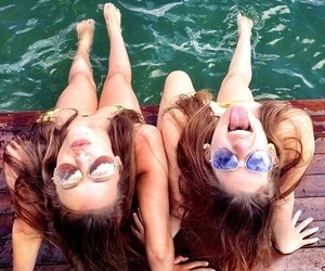 friendship, sea, and summer image