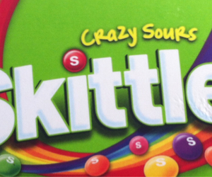 bonbons, skittles, and colourful image