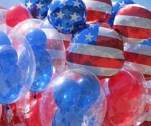 usa, balloons, and disney image