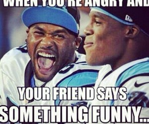 funny, angry, and friends image