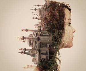 art, photography, and double exposure image