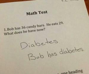 bob, candy, and diabetes image