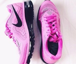 nike, pink, and fitness image
