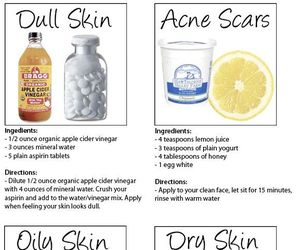 diy, skin, and beauty image